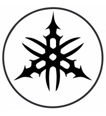 Stickers Yamaha noir