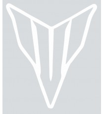 Stickers Yamaha blanc vide