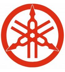 Stickers Yamaha rouge logo vintage