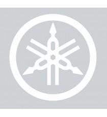 Stickers Yamaha blanc