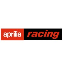 Stickers Aprilia Racing rouge