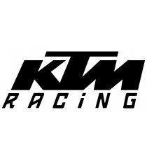 Stickers KTM Racing noir