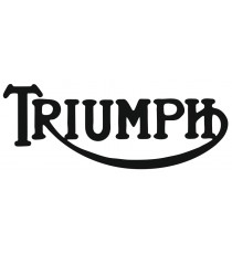 Stickers Triumph noir