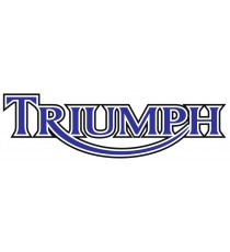 Stickers Triumph bleu