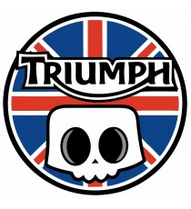 Stickers Triumph Skull