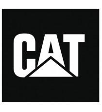 Stickers Caterpillar (blanc sur fond noir)