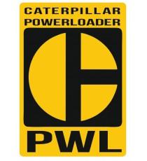 Stickers Caterpillar PWL