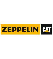 Stickers Caterpillar Zeppelin jaune
