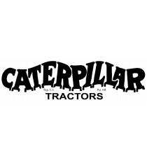 Stickers Caterpillar Tractors