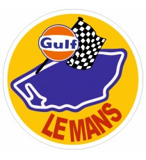 Stickers Gulf Le Mans